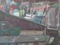 In Erwartung der Ausfahrt, 2004, Öl, Leinwand, 70x80 cm