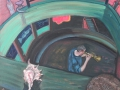 Jazzfest - Jazzdampfer III, 2008, Öl, Leinwand, 60x70 cm