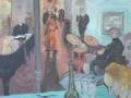 Jazzfest - Vernissage bei Rose, 2009, Öl, Leinwand, 60x70 cm