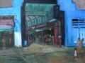 London - Granville-Arkade,1995, Öl, Leinwand, 80x90cm