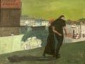 Paar am Kai, 2000, Öl, Leinwand, 70x90 cm