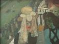 Pferderennen, 1998, Öl, Leinwand, 55x72 cm